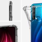 Spigen Crystal Shell Xiaomi Redmi Note 8 Case – Crystal Clear (ACS00439)