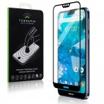 Terrapin Tempered Glass - Fullface Αντιχαρακτικό Γυάλινο Screen Protector Nokia 7.1 (006-001-170)