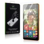 Αντιχαρακτικό γυάλινο Screen Protector για Microsoft Lumia 535. Κατασκευασμένο από γυαλί που έχει υποστεί ειδική θερμική επεξεργασία για να αυξηθεί η αντοχή του.