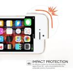 Θήκη σιλικόνης για iPhone 5/5S /SE Mirror Diamond Silver by Yousave