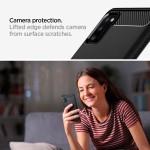 Spigen Θήκη Rugged Armor Samsung Galaxy A41 - Matte Black (ACS00875)