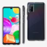 Spigen Θήκη Liquid Crystal Samsung Galaxy A41 - Crystal Clear (ACS00876)