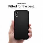 Spigen iPhone Xs Max Liquid Air Matte Black (065CS25126)