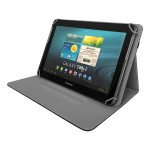 Yenkee Universal Provence Θήκη & Stand for Tablets 8'' - Black (200-105-936)