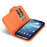 Πορτοκαλί Πορτοφόλι Samsung Galaxy S4