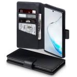 Terrapin Δερμάτινη Θήκη - Πορτοφόλι Samsung Galaxy Note 10 - Black (117-002a-179)