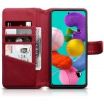 Terrapin Δερμάτινη Θήκη - Πορτοφόλι Samsung Galaxy A51 - Red (117-002a-205)