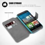 Το πορτοφόλι-θήκη είναι ειδικά σχεδιασμένο για το HTC One M9.