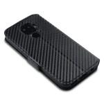 Terrapin Low Profile Θήκη - Πορτοφόλι Carbon Fibre Huawei Mate 30 Lite - Black