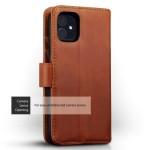 Terrapin Δερμάτινη Θήκη - Πορτοφόλι iPhone 11 Pro - Cognac (117-129-003)