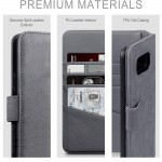 Terrapin Δερμάτινη Θήκη - Πορτοφόλι iPhone 11 Pro Max - Grey (117-131-004)
