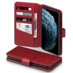 Terrapin Δερμάτινη Θήκη - Πορτοφόλι iPhone 11 Pro Max - Red (117-131-005)