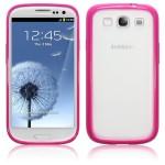 Ροζ Θήκη Bumper Samsung Galaxy S3