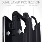 Terrapin Ανθεκτική Θήκη Double Layer Impact Huawei Mate 30 Lite - Black (131-083-116)