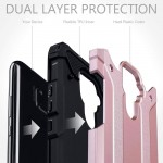 Terrapin Ανθεκτική Θήκη Double Layer Impact Huawei Mate 30 Lite - Rose Gold (131-083-118)