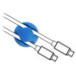 Delock Cable Holders Mini 2-Feed 10pcs Color Set (18296)