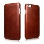 iCarer Vintage Curved Edge Δερμάτινη Θήκη iPhone 6/6S - Brown (RIP 622)
