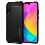 Spigen Θήκη Rugged Armor Xiaomi Mi 9 Lite - Black Matte (S52CS26400)