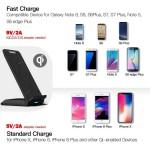 Nillkin Fast Wireless Charging Stand - Ασύρματος Φορτιστής - Black (MC018)