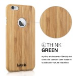 KW Ξύλινη Θήκη iPhone 6 /6S -  Bamboo Light Brown (200-104-952)