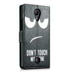 Θήκη-Πορτοφόλι για Wiko Tommy Don't Touch My Phone