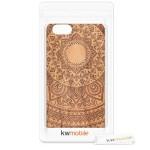 Ξύλινη θήκη για iPhone 6/6s Indian Sun ανοιχτό καφέ by KW