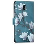 Θήκη Πορτοφόλι Samsung Galaxy J5(2017) Magnolias