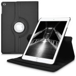 Θήκη-smart cover με stand 360° για Apple iPad 9.7(2017) μαύρη
