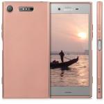 Θήκη σιλικόνης Metallic Rose Gold για Sony Xperia XZ1