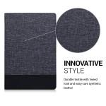 Θήκη-smart cover με stand για Huawei MediaPad Μ5 10 σκούρο μπλε