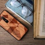 KW Ξύλινη Θήκη OnePlus 6 - Γραμμικό σχέδιο (200-104-305)