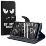 Θήκη-Πορτοφόλι για Samsung Galaxy A7(2018) μαύρη Don't Touch by KW