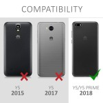 Ημιδιάφανη Θήκη σιλικόνης Indian Sun για Huawei Y5(2018)