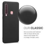 Θήκη σιλικόνης μαύρη για Samsung Galaxy A9(2018)