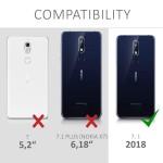 KW Θήκη Σιλικόνης Nokia 7.1 (2018) - Metallic Rose Gold (200-104-282)
