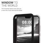 KW Flip Θήκη Huawei P20 Lite - Black / Transparent (200-104-301)