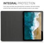 Θήκη-smart cover με stand για Huawei MediaPad T5 10 σκούρο-γκρι  by KW (200-104-864)
