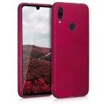 Θήκη σιλικόνης για Xiaomi Redmi Note 7 / Note 7 Pro - Metallic Pink by KW (200-104-236)