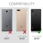 KW Θήκη Full Body Huawei Y7 (2019) / Y7 Prime (2019) & Screen Protector - Metallic Blue (200-104-290)