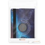 Θήκη-smart cover με stand 360° για Samsung Galaxy Tab A 10.1 (2019) Cosmic Nature Blue / Grey / Black by KW (200-104-937)