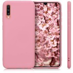 KW Θήκη Σιλικόνης Samsung Galaxy A70 - Light Pink Matte - (200-104-226)