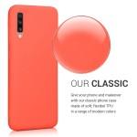 KW Θήκη Σιλικόνης Samsung Galaxy A70 - Living Coral - (48427.141)