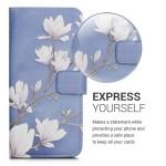 Θήκη-Πορτοφόλι για Xiaomi Redmi 7 - Taupe/White/Blue Grey by KW (200-104-302)