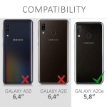 KW Θήκη Σιλικόνης Samsung Galaxy A20e - Mint Matte (200-104-291)