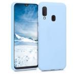 KW Θήκη Σιλικόνης Samsung Galaxy A20e - Light Blue Matte (200-104-440)