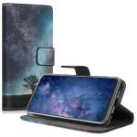 Θήκη-Πορτοφόλι για Samsung Galaxy A20e Blue/Grey/Black by KW (200-104-279)