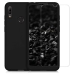 KW Θήκη Full Body Huawei Y6 (2019) & Screen Protector - Metallic Black (200-104-771)