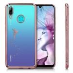 Θήκη Σιλικόνης  Huawei P Smart (2019) -  Fairy Rose Gold/Transparent by KW (200-104-293)