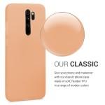Θήκη Σιλικόνης για Xiaomi Redmi Note 8 Pro - Peach by KW (200-104-730)