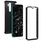 KW Θήκη Full Body Xiaomi Redmi Note 8 Pro & Screen Protector - Metallic Black (200-104-727)